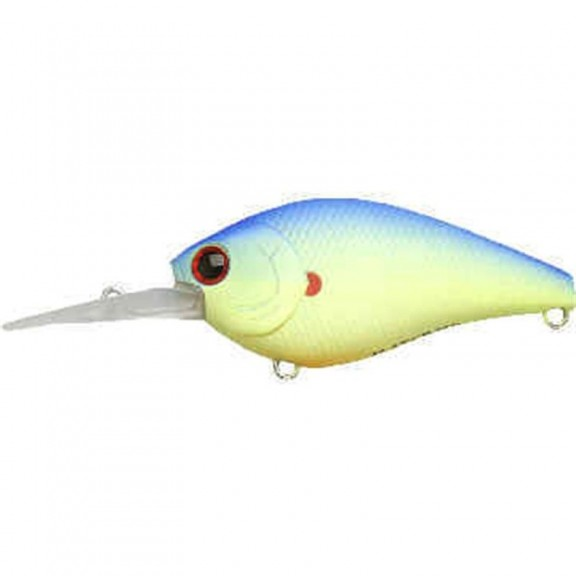 Lucky Craft Flat CB DR Chartreuse Ligth Blue