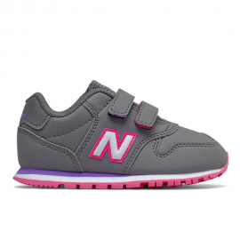 Zapatillas New Balance IV500RGP gris/rosa bebé