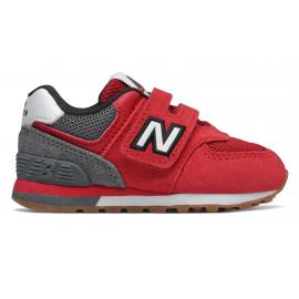 Zapatillas New Balance IV574ATG rojo/gris bebé