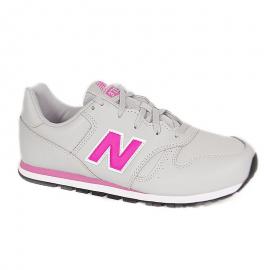 Zapatillas New Balance YC373EGP gris/rosa niña