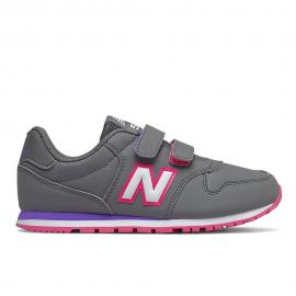 Zapatillas New Balance YV500RGP gris/rosa niña