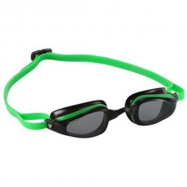 Gafas natación MP K180 verde/negro