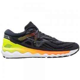 Zapatillas running Mizuno Wave Sky 4 gris/amarillo hombre