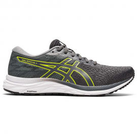 Zapatillas running Asics Gel-Excite 7 gris/lima hombre