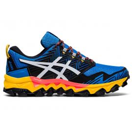 Zapatillas trail Asics Gel-FujiTrabuco 8 azul/blanco hombre