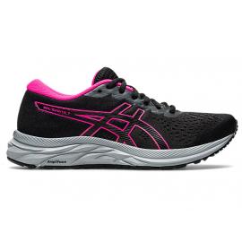 Zapatillas running Asics Gel-Excite 7 negro/rosa mujer