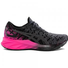 Zapatillas running Asics Dynablast negro/rosa mujer