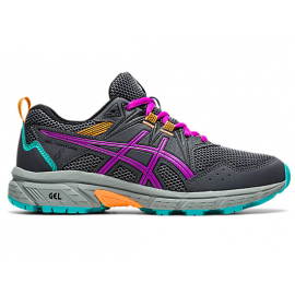 Zapatillas Asics Gel-Venture 8 GS gris/fucsia junior