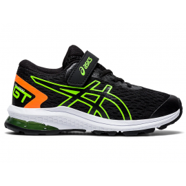 Zapatillas running Asics GT-1000 9 PS negro/verde niño
