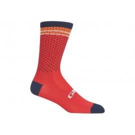 Calcetines altos Giro Racer High Rise 2020 red-orange
