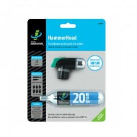Mini imflador CO2 Genuine Innovations Hammerhead 20 gr