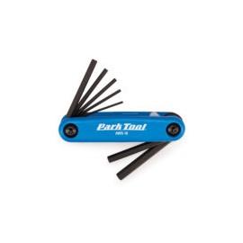 Multiherramientas Park Tool AWS-10 navaja allen 1.5 a 6 mm