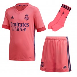 Conjunto Adidas Real Madrid 20-21 rosa junior