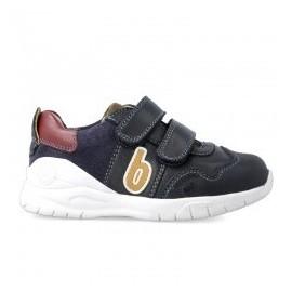Zapatos Biomecanics azul marino niño