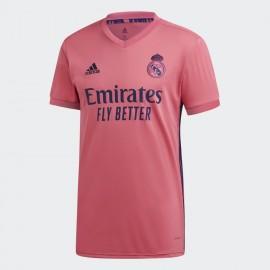 Camiseta Adidas futbol Real Madrid 20/21 hombre rosa