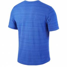 Camiseta Correr Nike Miller Dri Fit azul hombre