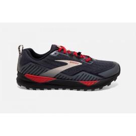 Zapatillas trail running Brooks Cascadia 15 GTX negro rojo