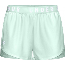 Pantalon Corto Under Armour Play Up 3.0 verde mujer