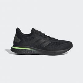 Zapatillas running adidas Supernova M negro/verde  hombre