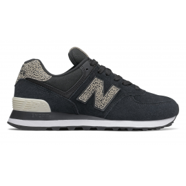 Zapatillas New Balance WL574ANC negro/animal print mujer