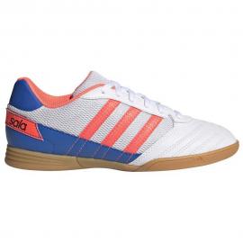 Zapatillas fútbol adidas Super Sala J blanco/naranja junior