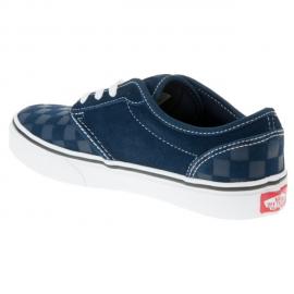 Zapatillas Vans YT Atwood azul/blanco cuadros