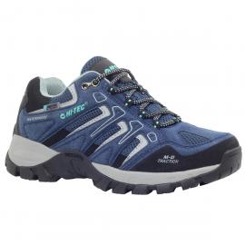 Zapatillas trekking Hi-Tec Torca Low Wp azul mujer