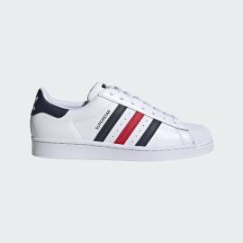 Zapatillas adidas Superstar blanco/azul/rojo hombre
