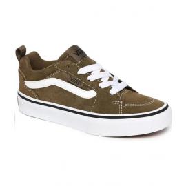 Zapatillas Vans Filmore verde militar/blanco/negro junior