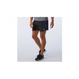 "Pantalón running New Balance Accelerate 5"" negro/royal hombr"