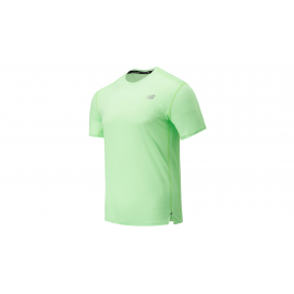 Camiseta running New Balance Impact Run lima hombre