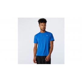 Camiseta running New Balance Impact Run royal hombre