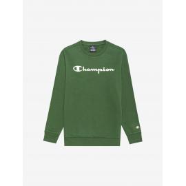 Sudadera Champion Cuello Redondo 305360 verde junior
