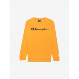 Sudadera Champion Cuello Redondo 305360 amarillo junior