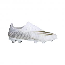 Zapatillas adidas X Ghosted.3 FG blanco/dorado hombre
