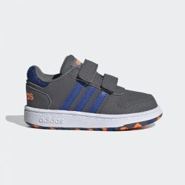 Zapatillas adidas Hoops 2.0 CMF I gris/azul bebé