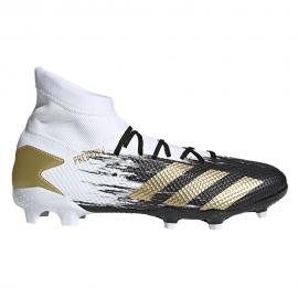 Zapatillas fútbol adidas Predator 20.3 FG blanco/negro/oro