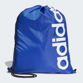 Mochila saco adidas Linear Core azul/blanco