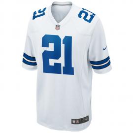 Camiseta Nike NFL Dallas Cowboys Elliot blanco hombre