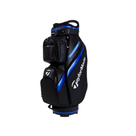 Bolsa carro golf Taylormade Deluxe Cart Bag negra/azul