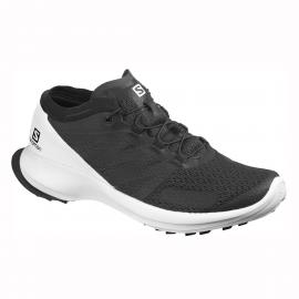 Zapatillas trail running Sense Flow negro/blanco hombre
