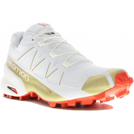 Zapatillas Trail Salomon Speedcross 5 Ltd blanca mujer