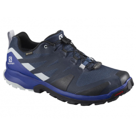 Zapatillas trail running Salomon XA Rogg GTX azul hombre