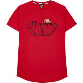 Camiseta manga corta Ellesse Deuce rojo hombre