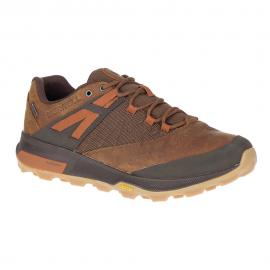 Zapatillas montaña Merrell Zion GORE-TEX marrón hombre