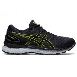 Zapatillas running Asics Gel-Nimbus 22 gris/lima hombre