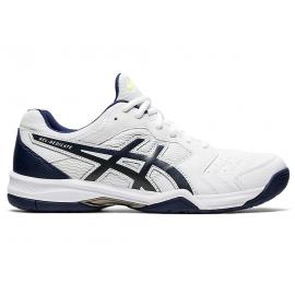 Zapatillas tenis Asics Gel-Dedicate 6 blanco/azul hombre