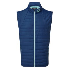 Chaleco golf Footjoy Thermal Quilted Vest azul hombre