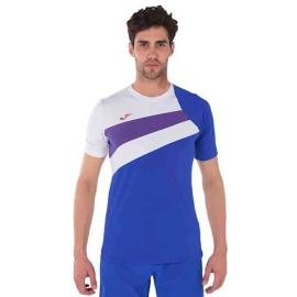 Camiseta tenis Joma Ancares royal/blanco/rojo hombre