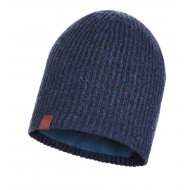 Gorro lana Buff Lyne azul hombre